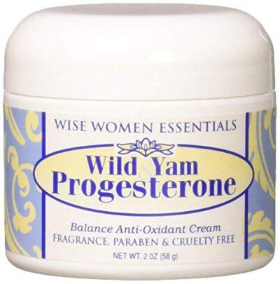Wild Yam Progesterone Bio identical Plant Based Cream -  balance