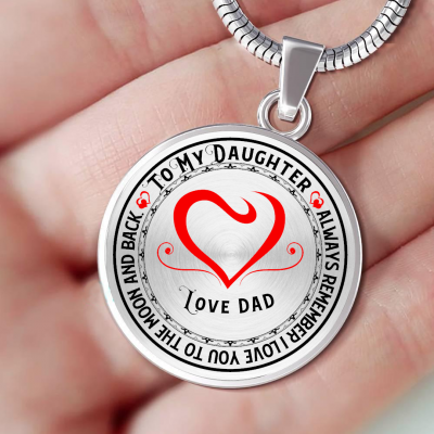 Love you to the Moon and Back Love Dad -