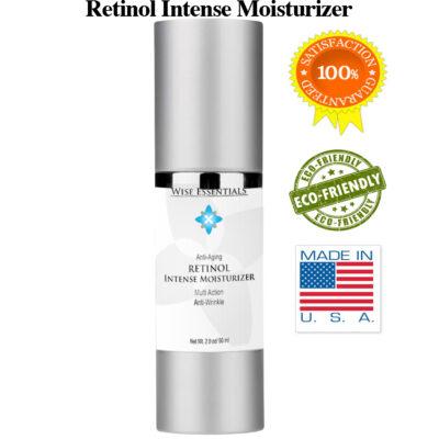 Retinol Intense Face Moisturizer Cream -  Retinol Intense Moisturizer Icons